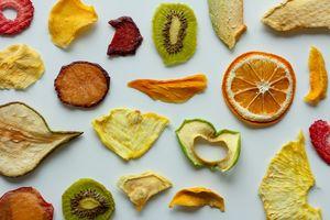 Сушени плодове - видове